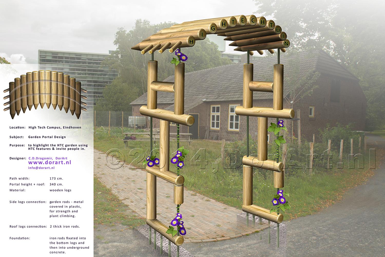 DorArt design - HTC garden portal