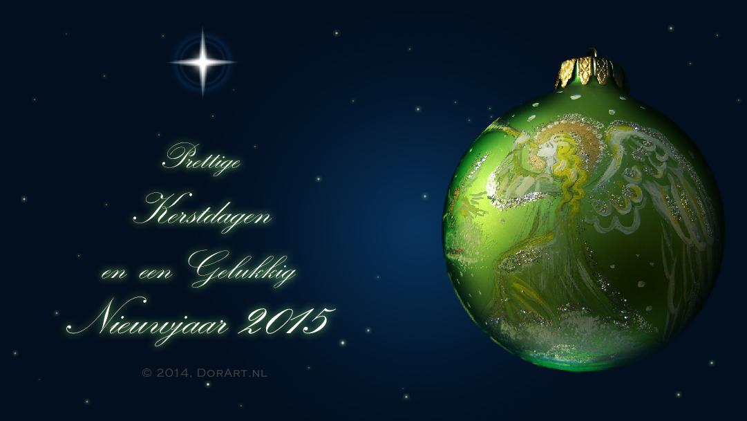 Prettige Kerstdagen en een Gelukkig Nieuwjaar 2015