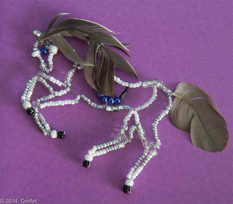 Brooch - Crystal Horse